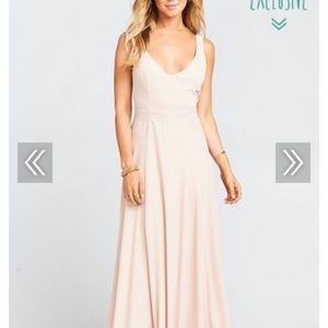 Show Me Your Mumu Jenn Dress in Dusty Blush (M)